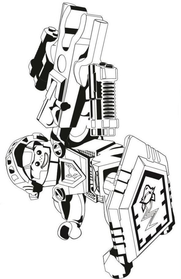 Printable Lego Coloring Pages For Kids