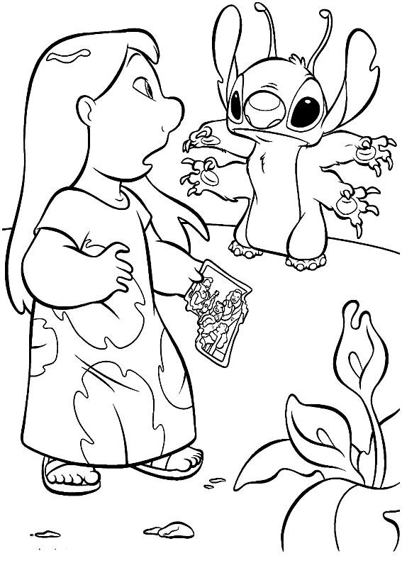 Printable Lilo And Stitch Coloring Pages