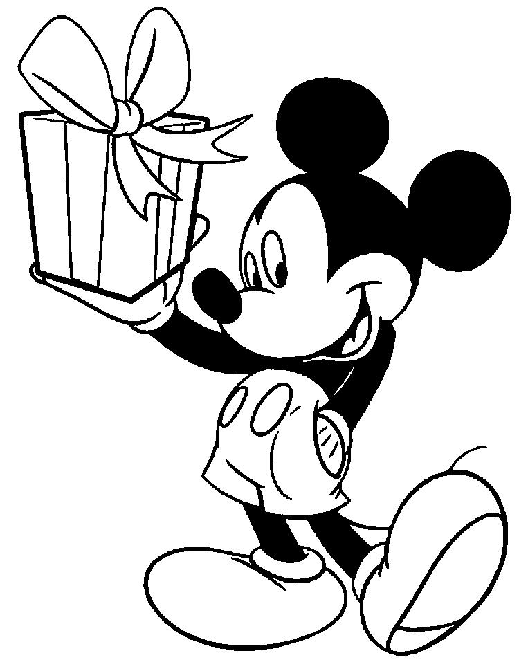 Printable Mickey Mouse Coloring Pages For Kids