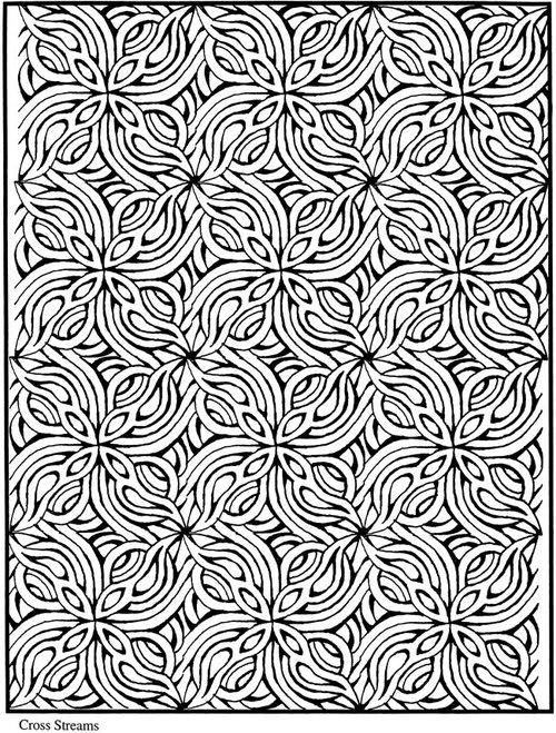 Printable Mosaic Coloring Pages 2