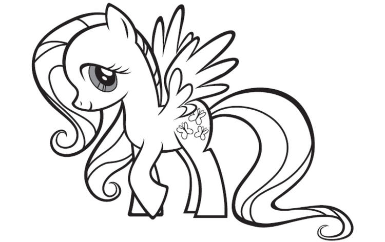 Printable My Little Pony Coloring Pages For Kids