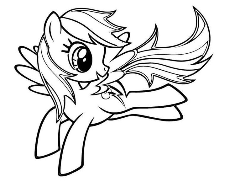 Printable My Little Pony Coloring Pages