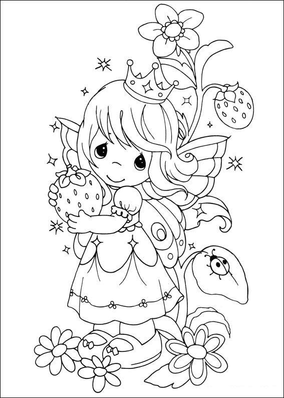Printable Precious Moments Coloring Pages For Kids