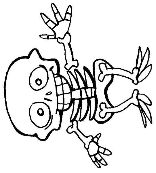 Printable Skeleton Coloring Pages - Coloring Ideas