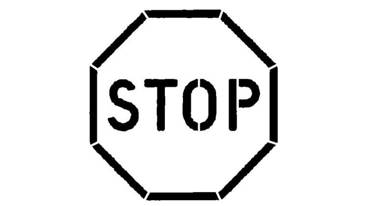 Printable Stop Sign Coloring Pages For Kids