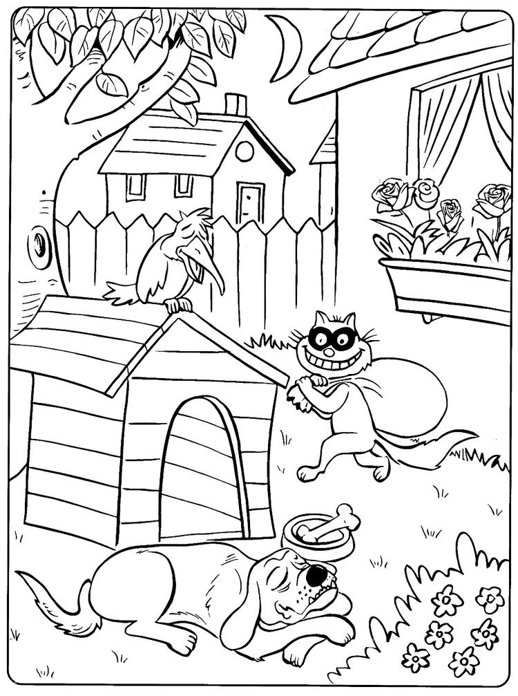 Printable Toddler Animal Coloring Pages