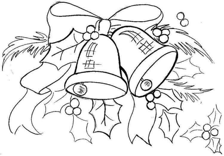 Printable Toddler Christmas Coloring Pages 1