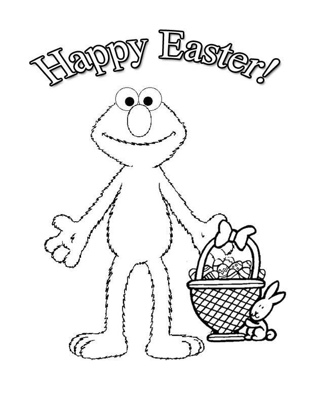 Printable Toddler Easter Coloring Pages