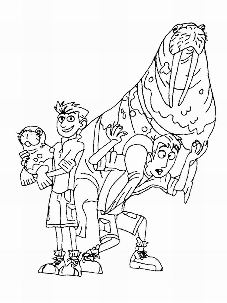 Printable Wild Kratts Coloring Pages For Kids