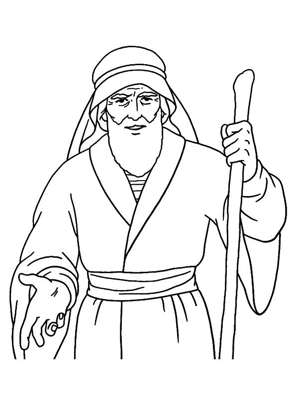 Prophet Moses Coloring Pages