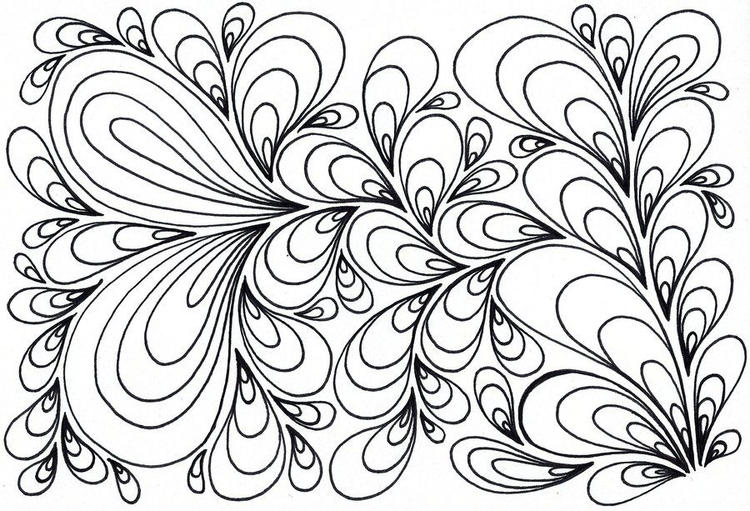 Psychedelic Coloring Pages For Kids