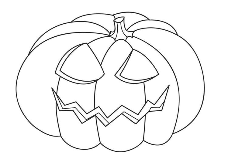 Pumpkin Free Halloween Coloring Pages For Toddlers