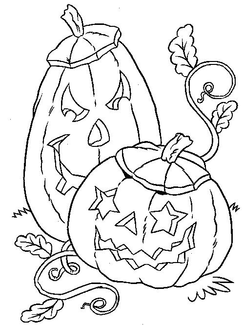 Pumpkin Free Halloween Coloring Sheets For Kids