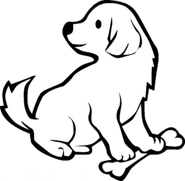 Puppies Coloring Pages For Preschooler