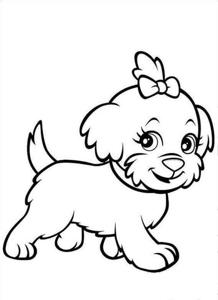 Puppies Dog Coloring Pages
