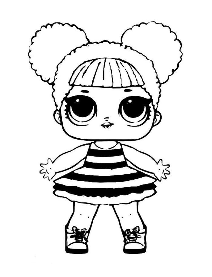 Queen Bee Lol Coloring Pages