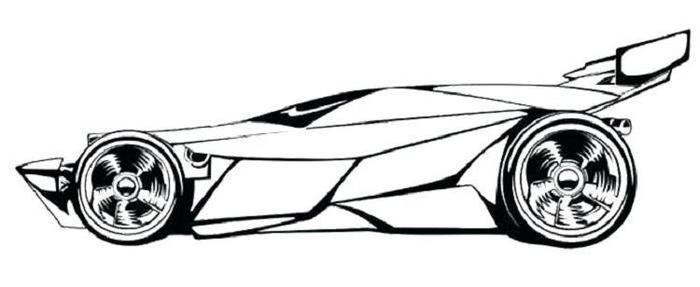 Race Cars Coloring Pages To Print