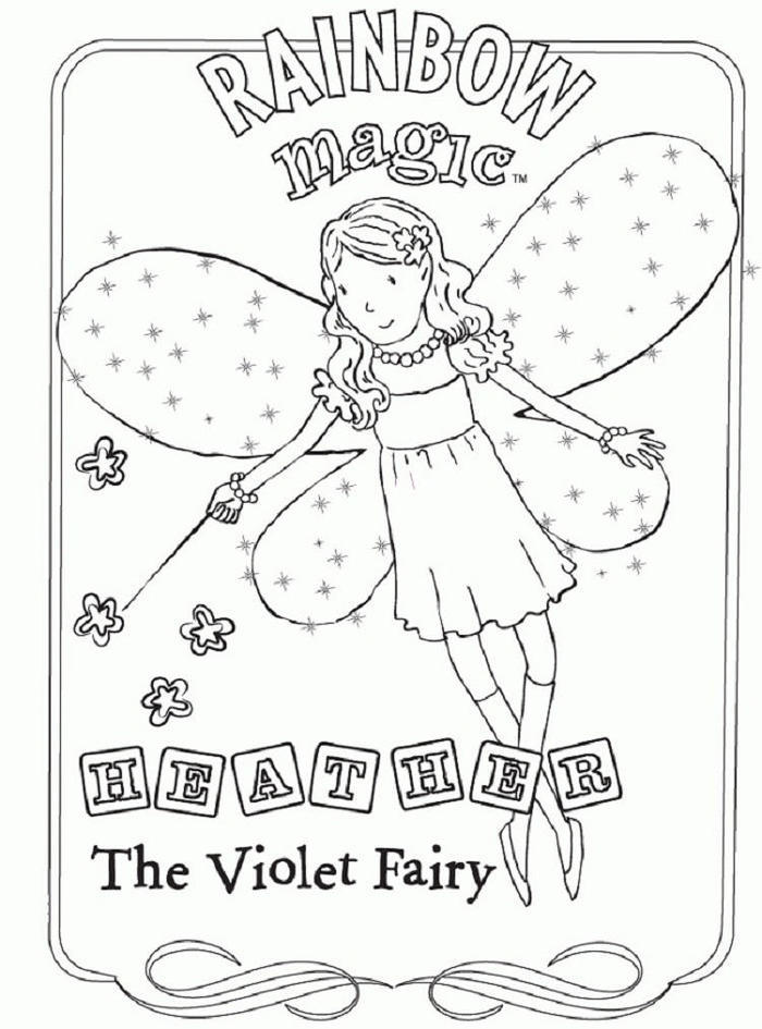 Rainbow Magic Coloring Pages