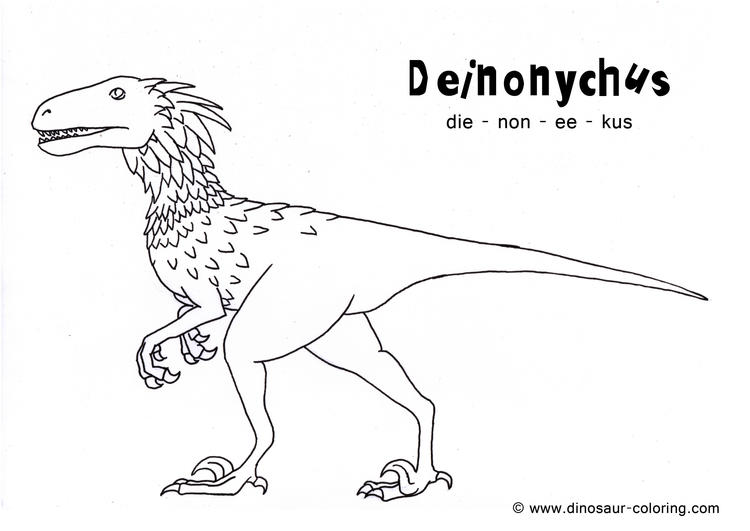 Real Dinosaurs Coloring Pages With Names