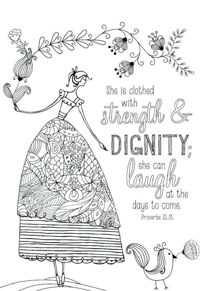 Religious Bible Verse Coloring Pages