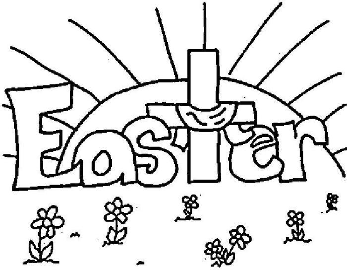 Religious Coloring Pages For Easter