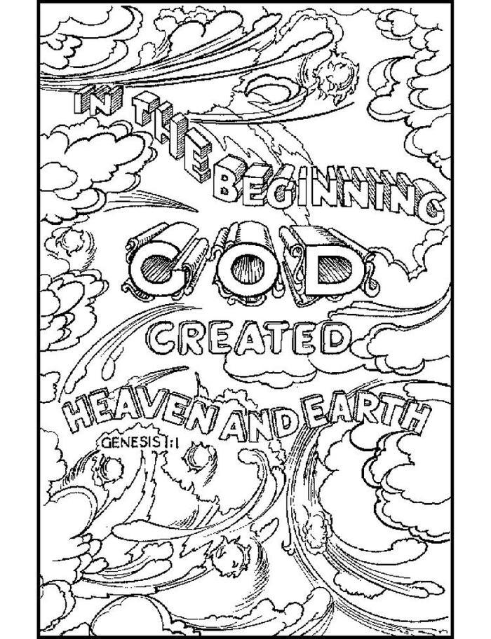 Religious Coloring Pages Free
