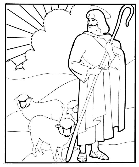 Religious Coloring Pages Printable