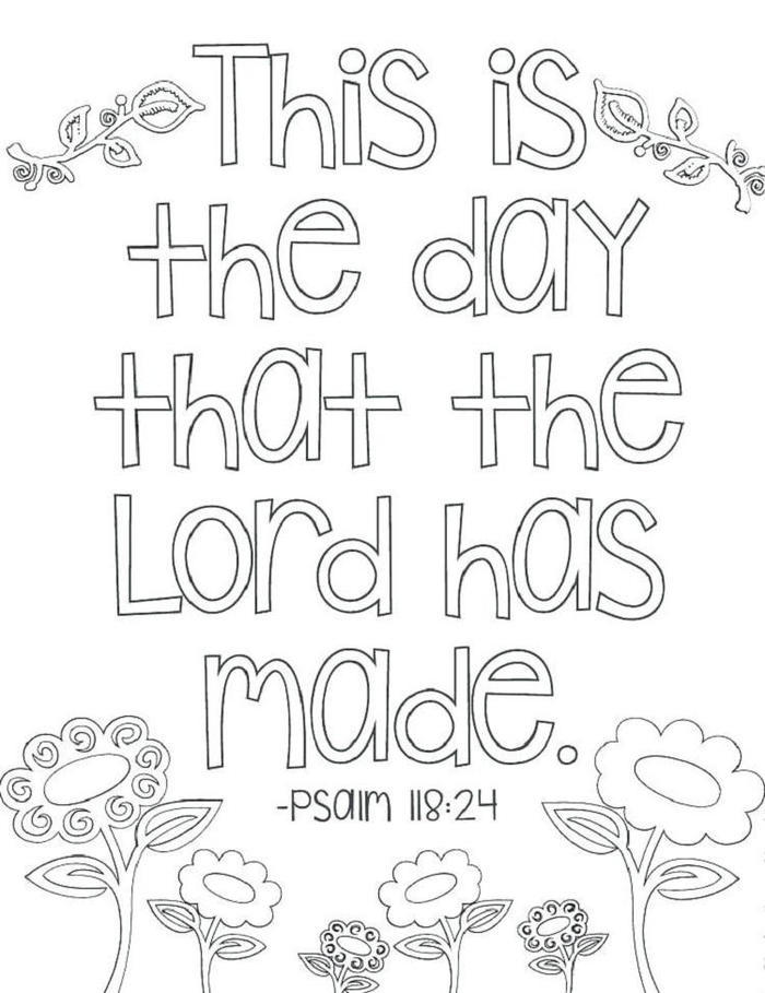 Religious Scripture Coloring Pages