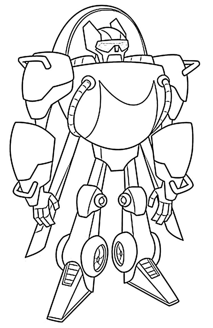 Rescue Bots Coloring Pictures Printable