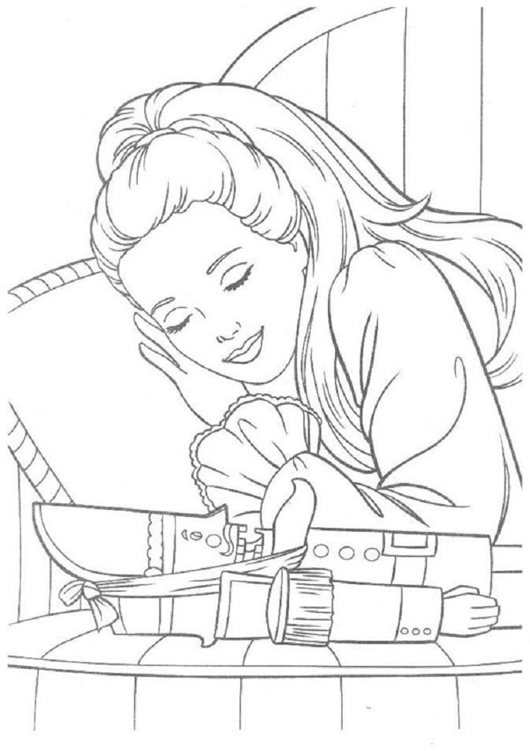 Retro Barbie Coloring Pages