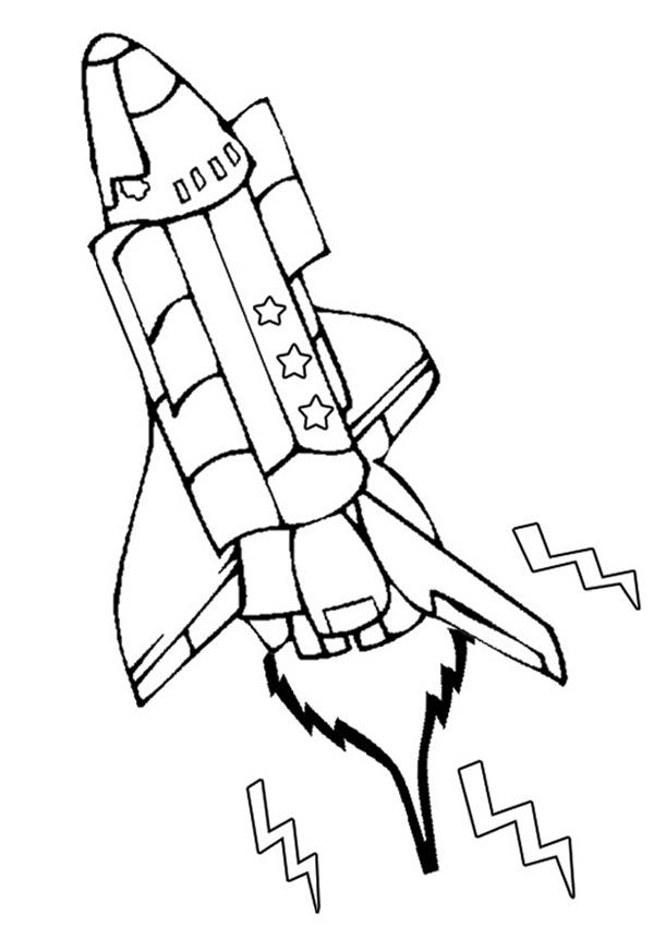 picture regarding Rocket Printable known as Rocket Printable Coloring Webpage - Coloring Designs