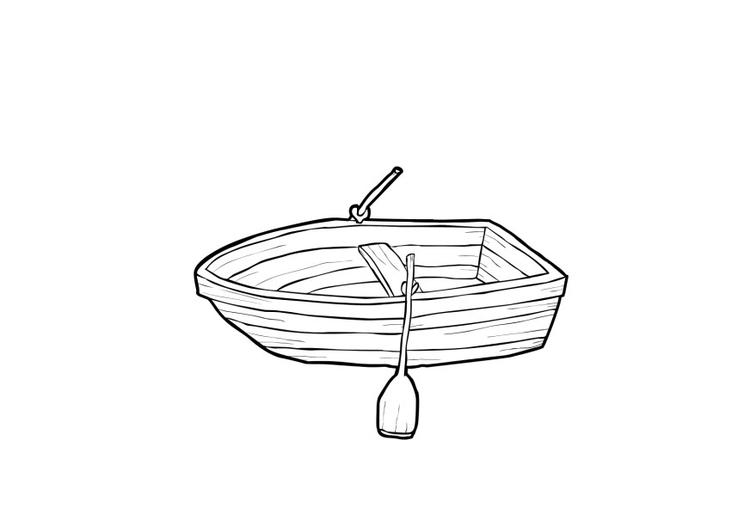 Row Boat Coloring Pages To Print