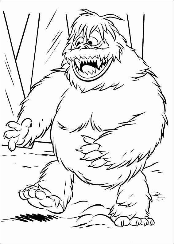 Rudolph The Red Nosed Reindeer Coloring Pages Bumble