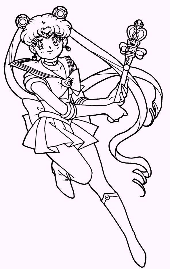 Sailor Moon Coloring Images