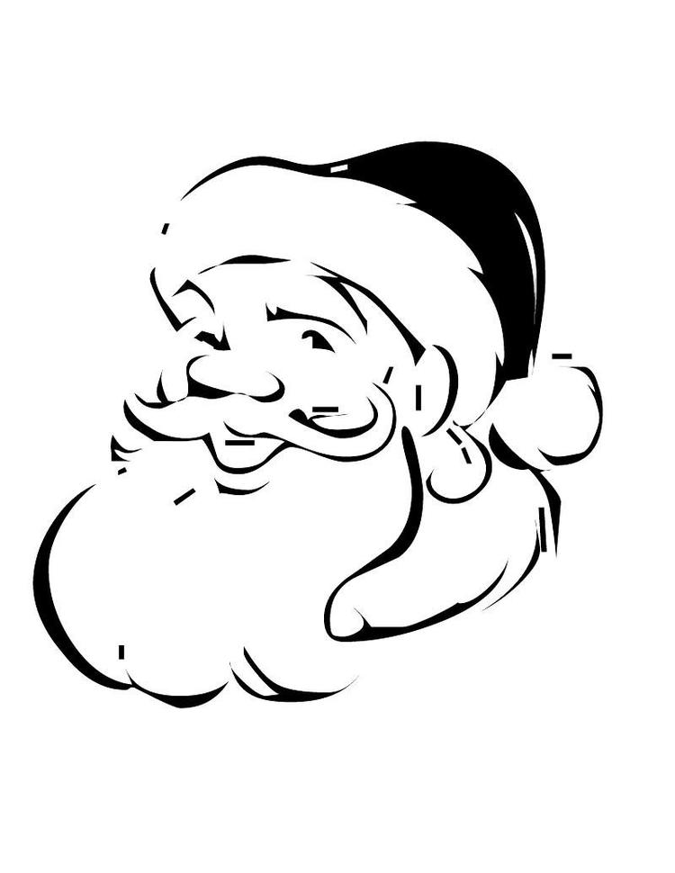 Santa Claus Christmas Coloring Pages For Kids
