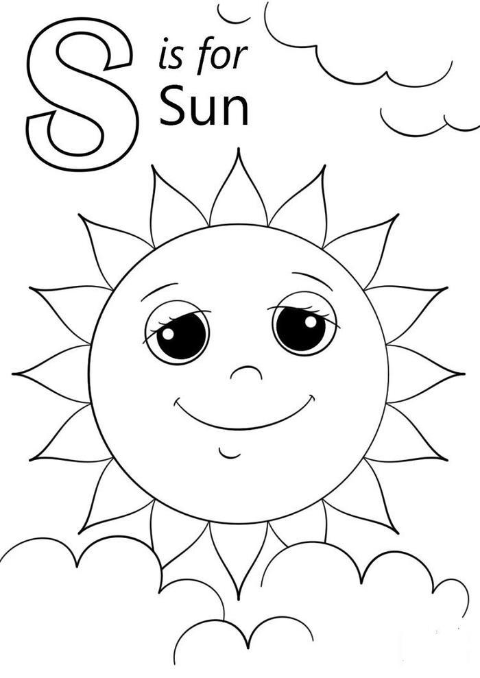 Scarce Sun Coloring Pages