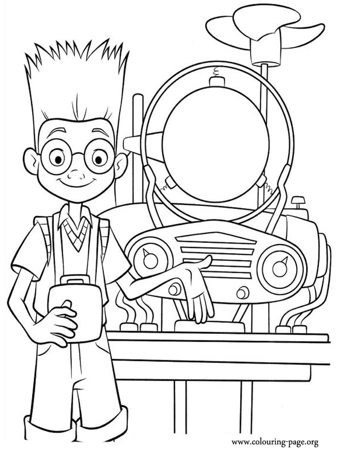 Science Coloring Pages For Kids 1