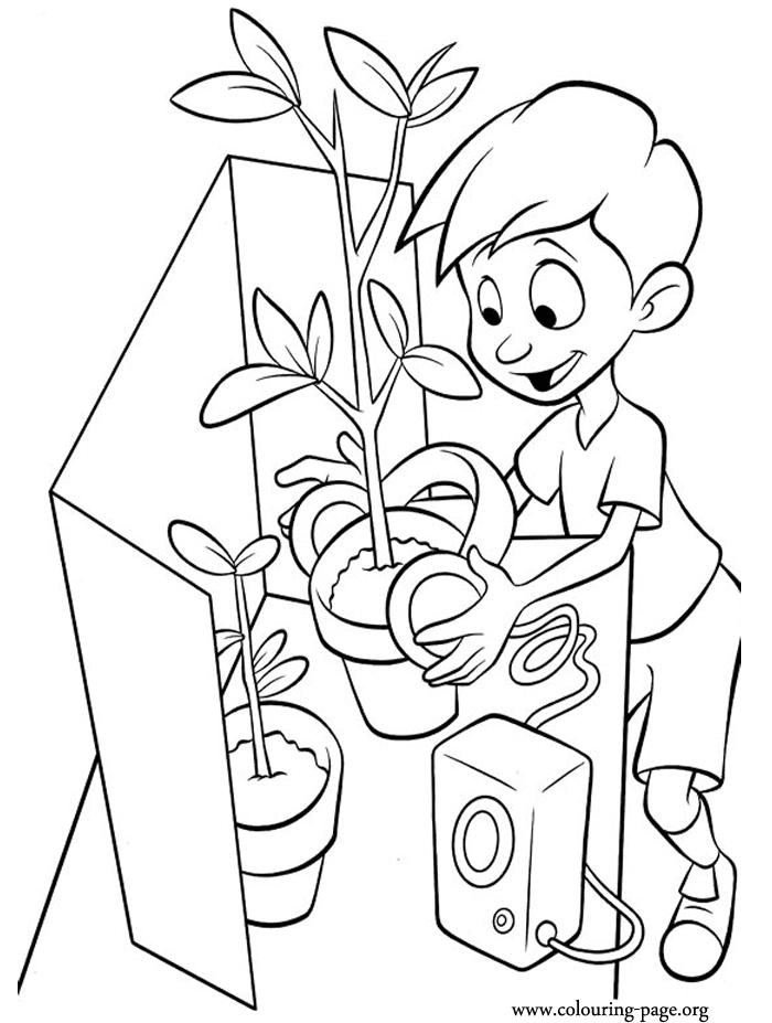 Science Fair Projects Coloring Pages