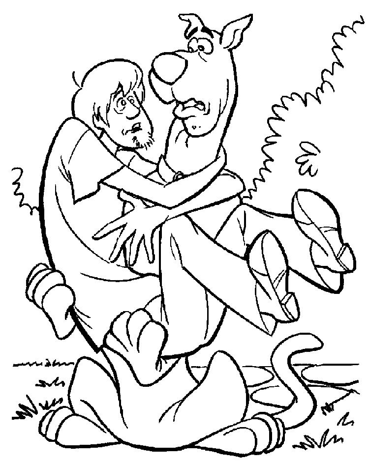 Scooby Doo Coloring Pages For Halloween