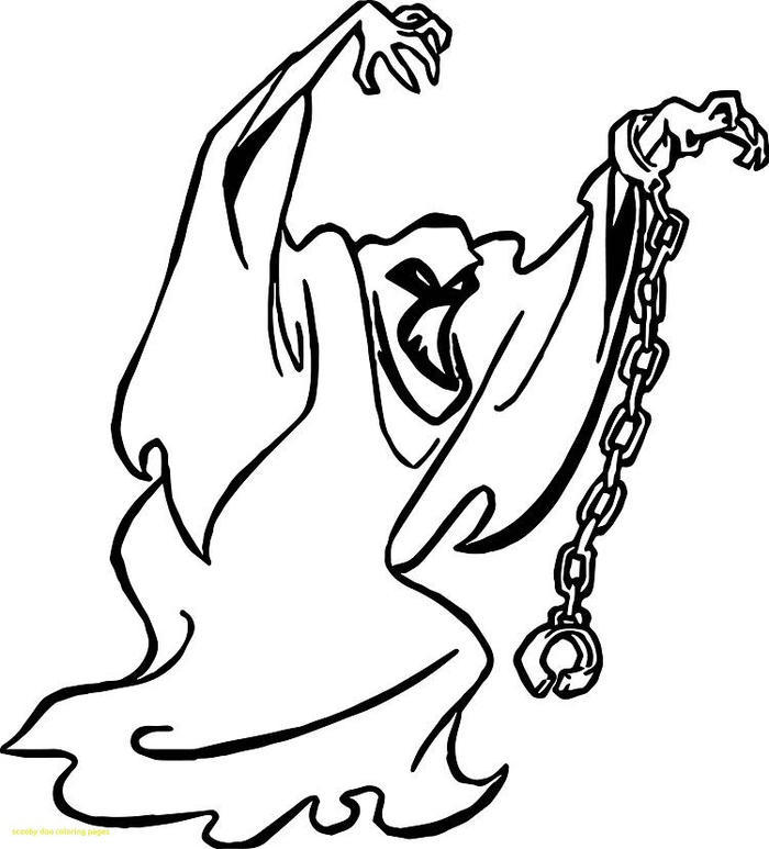 Scooby Doo Ghost Coloring Pages