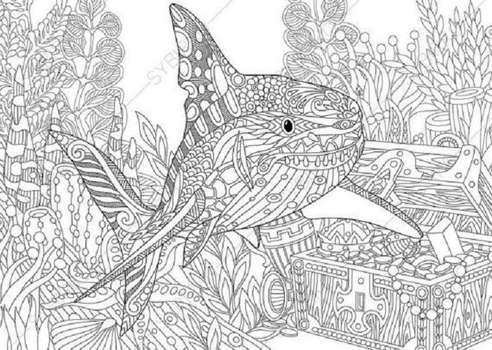Sea Coloring Pages For Adults
