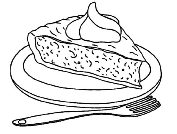 Second Slice Of Apple Pie Coloring Pages