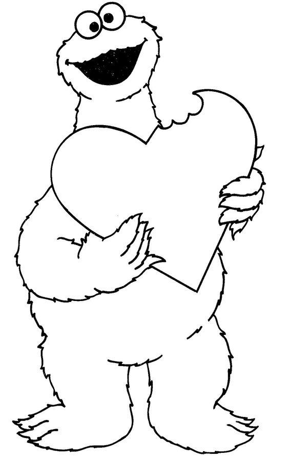 Sesame Street Coloring Pages Free To Print