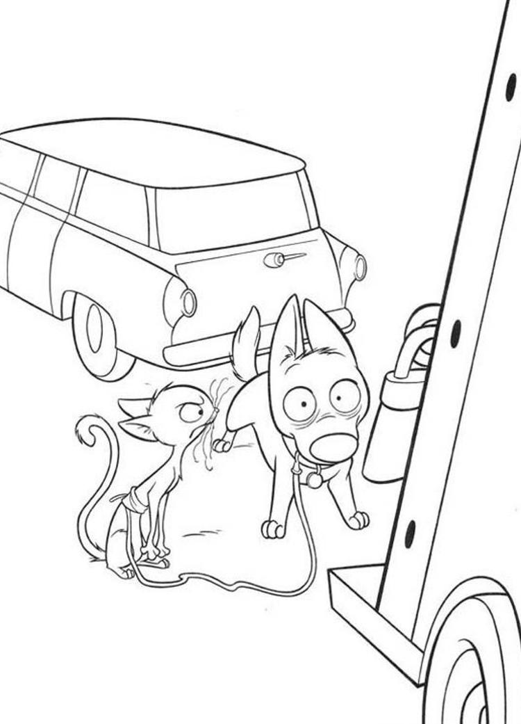 Shocking Bolt Free Printable Cartoon Coloring Pages