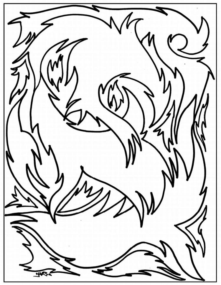Simple Advanced Coloring Pages