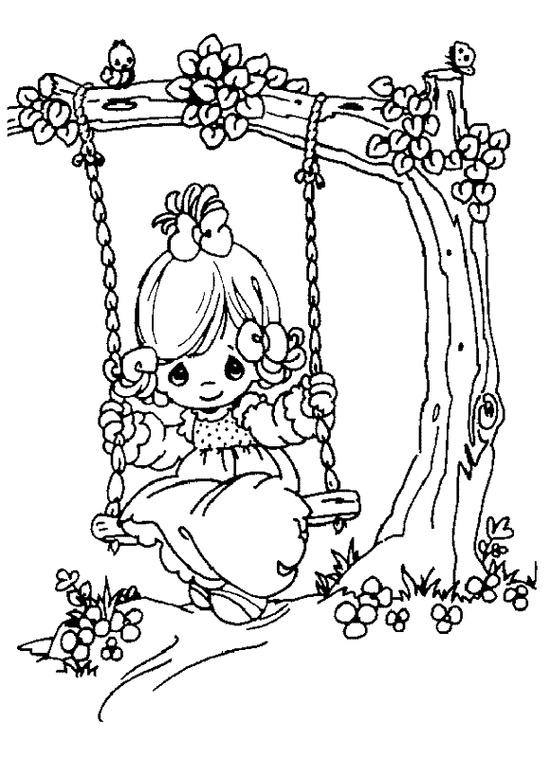 Simple Precious Moments Wedding Coloring Pages