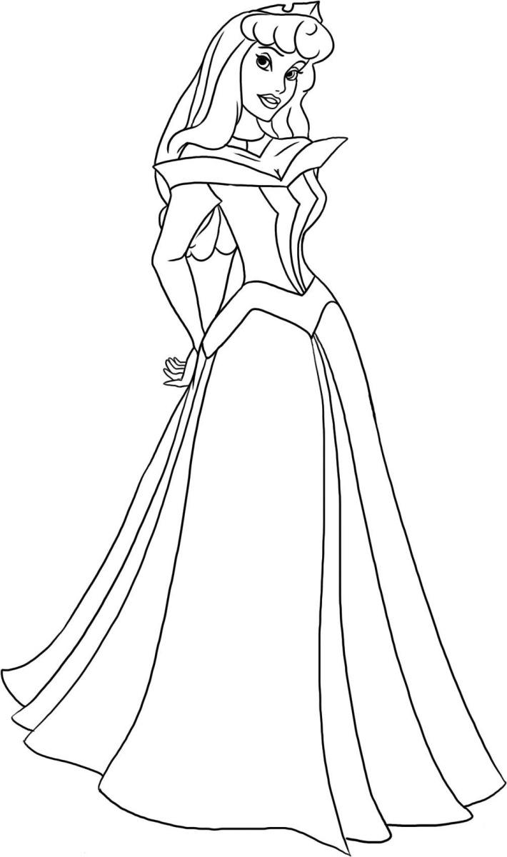 Sleeping Beauty Coloring Pages Aurora