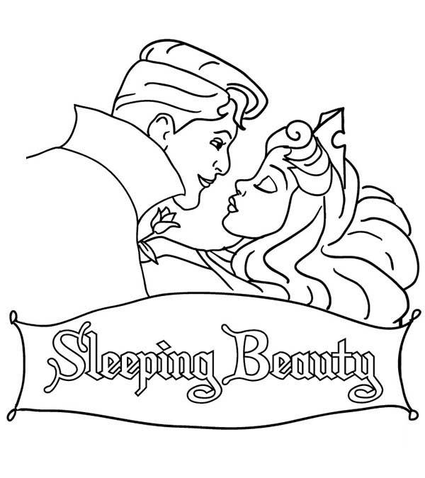 Sleeping Beauty Coloring Pages Walt Disney