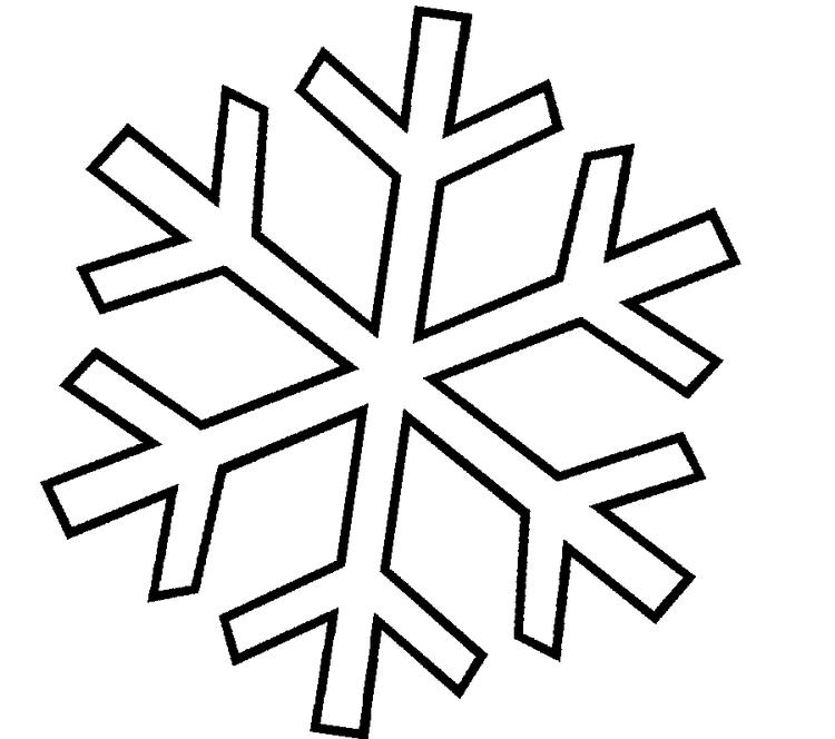 Snowflake Coloring Pages For Kids