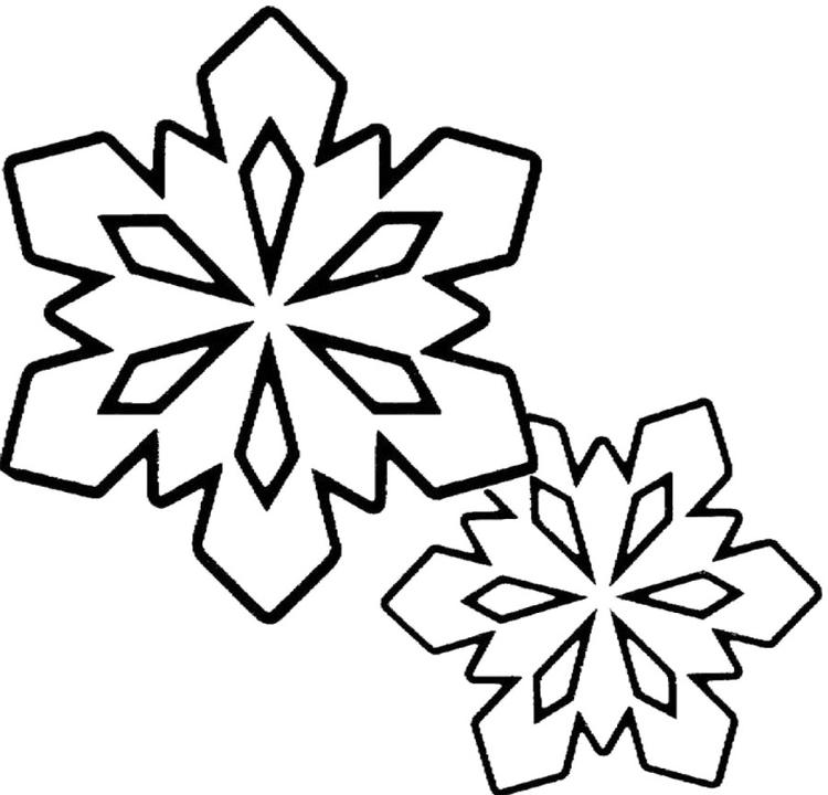 Snowflake Coloring Pages Printable Free